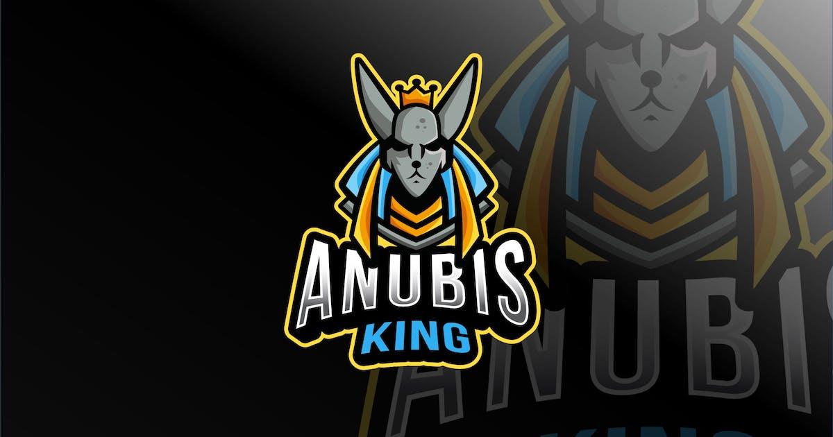 Download Anubis King Esport Logo Template by IanMikraz