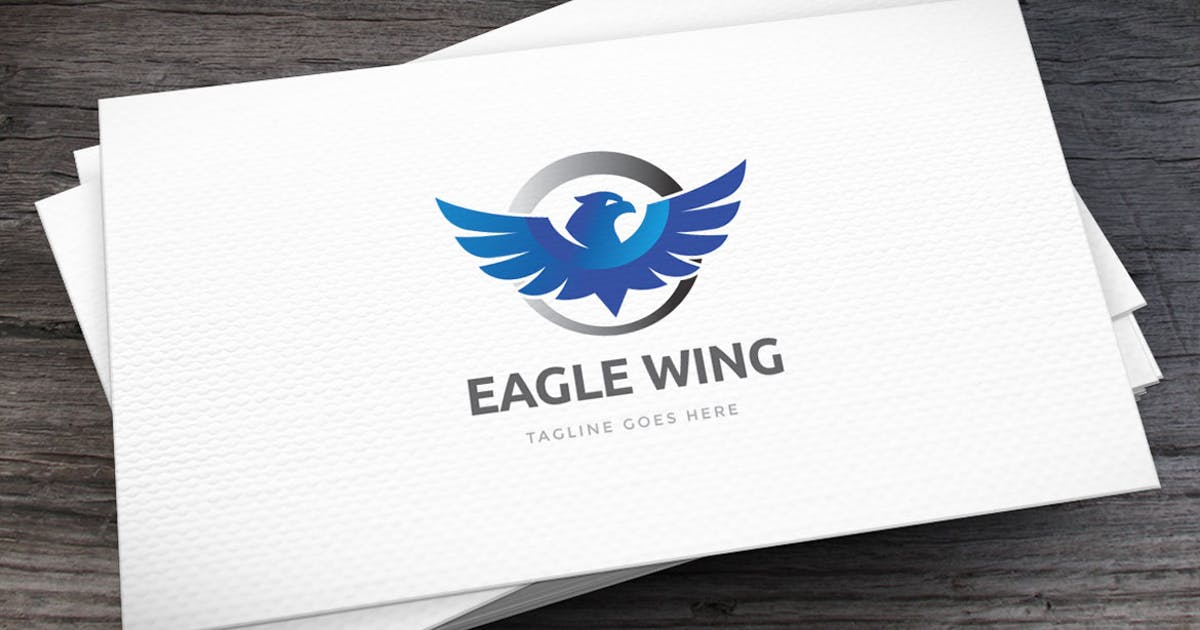 Download Eagle Wing Logo Template by empativo