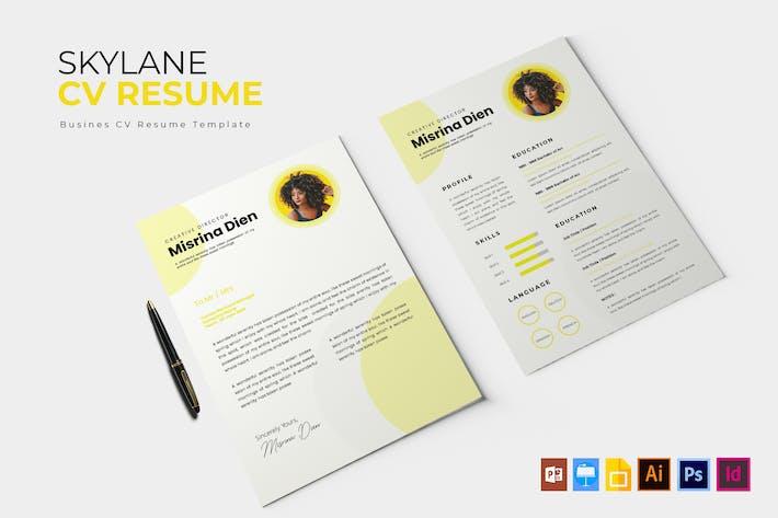 Thumbnail for Skylane | CV & Resume