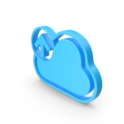Cloud Upload Web Icon