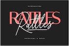 Rattles Signature Font Duo