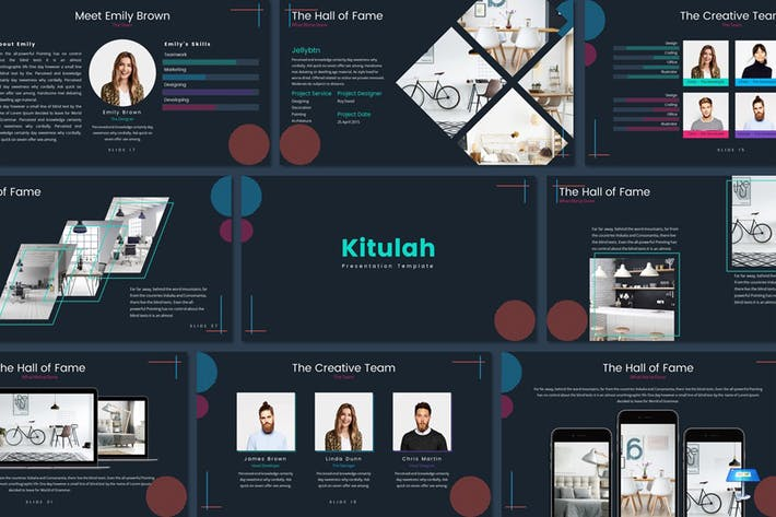 Cover Image For Kitulah - Keynote Template