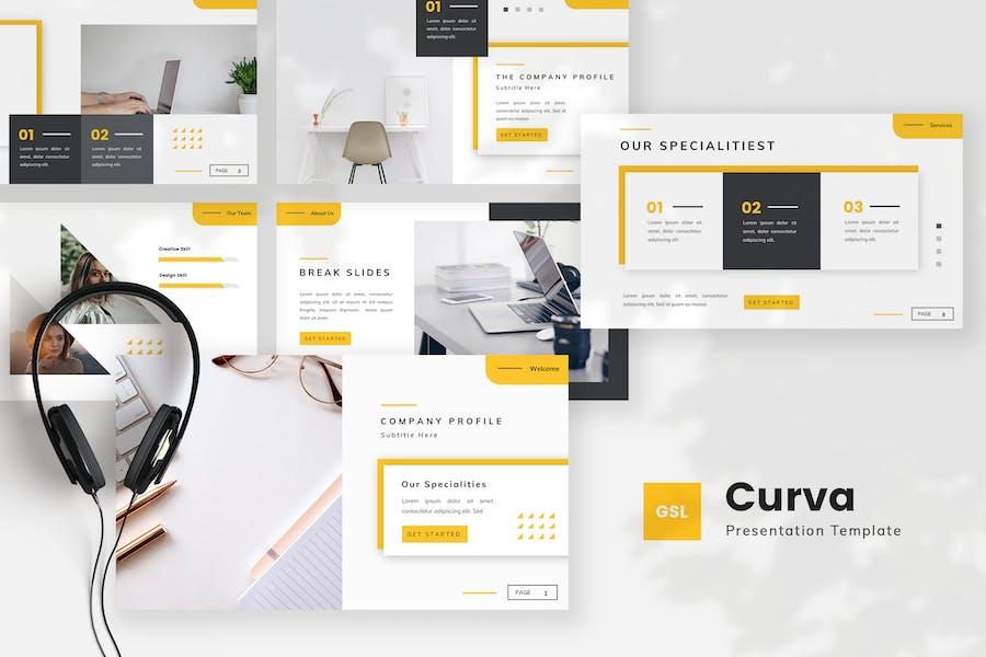 Creative Company Profile Google Slides Template
