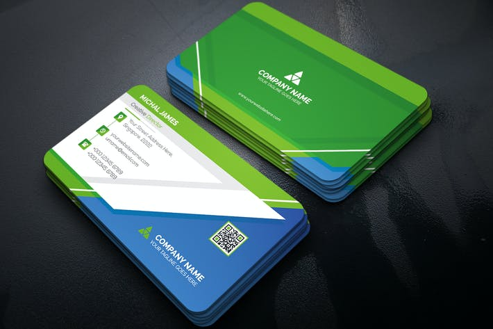 Business Card By Curvedesign On Envato Elements