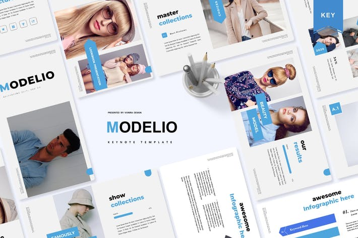 Thumbnail for Modelio | Keynote Template
