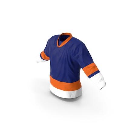 Eishockey Jersey Blau