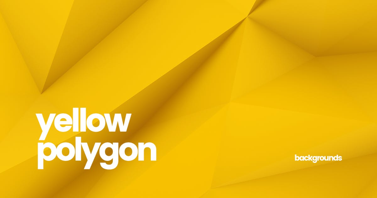 Download Yellow Polygon Backgrounds by themefire