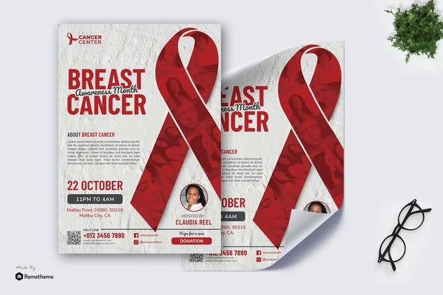Cancer Day vol.02 - Poster RB
