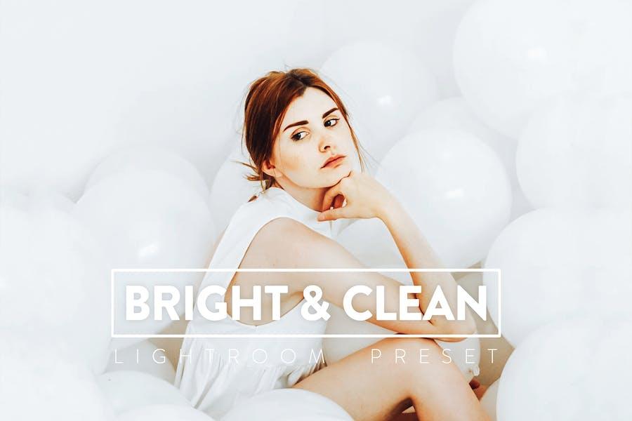 10 Bright & Clean Lightroom Presets