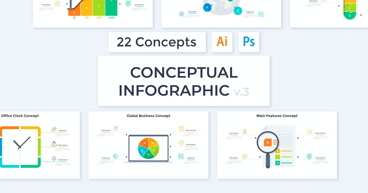 Download Conceptual Infographic v.5 by Andrew_Kras