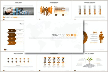 SHAFT OF GOLD Google Slides