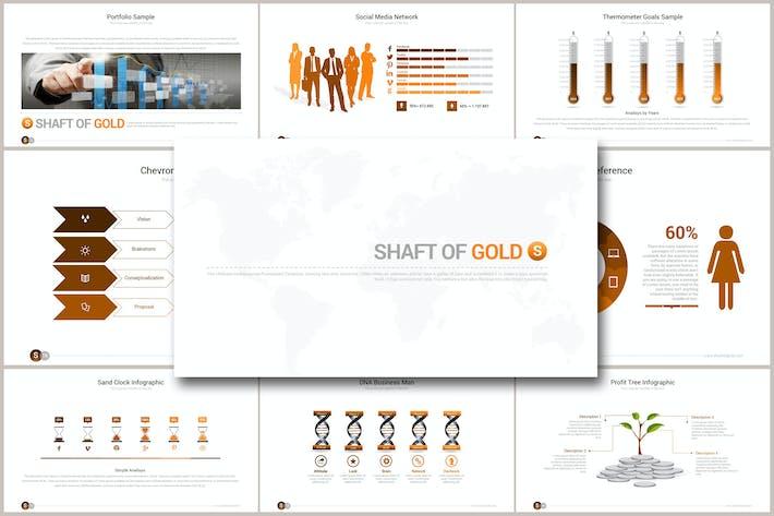 Thumbnail for SHAFT OF GOLD Google Slides