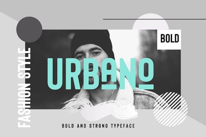 Thumbnail for URBANO Bold header Typeface