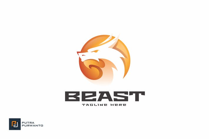 Thumbnail for Beast - Logo Template