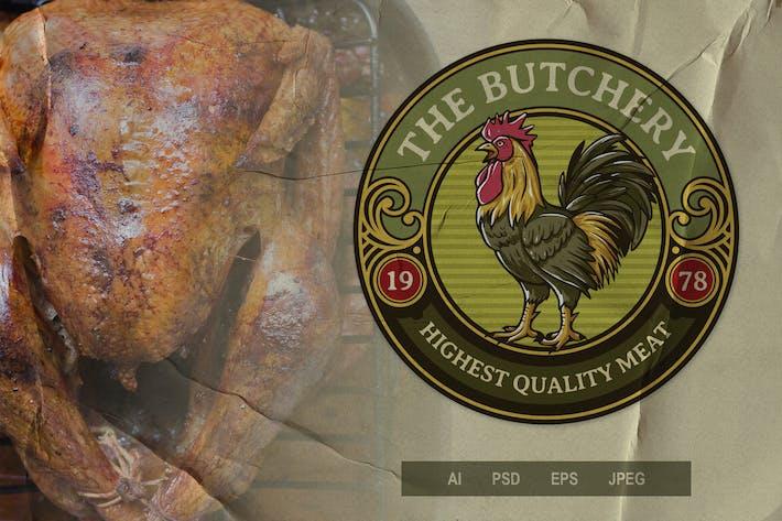 Thumbnail for Vintage Emblem - Butchery V2