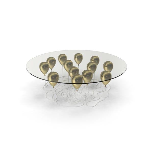 Gold Balloon Coffee Table