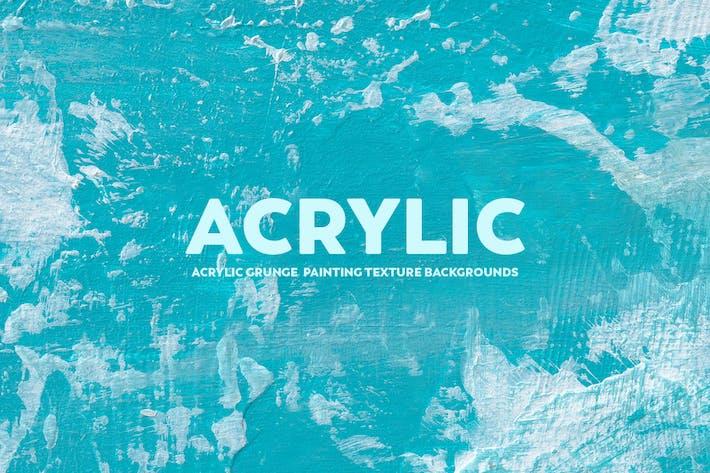 Thumbnail for Acrylique Grunge Peinture Arrière-plans Texture