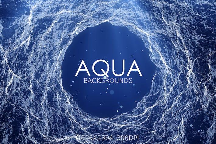 Thumbnail for Aqua Backgrounds