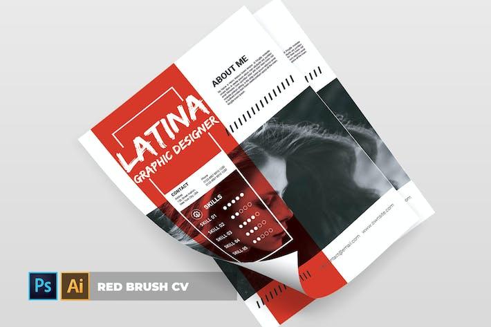 Thumbnail for Roter Pinsel | Lebenslauf