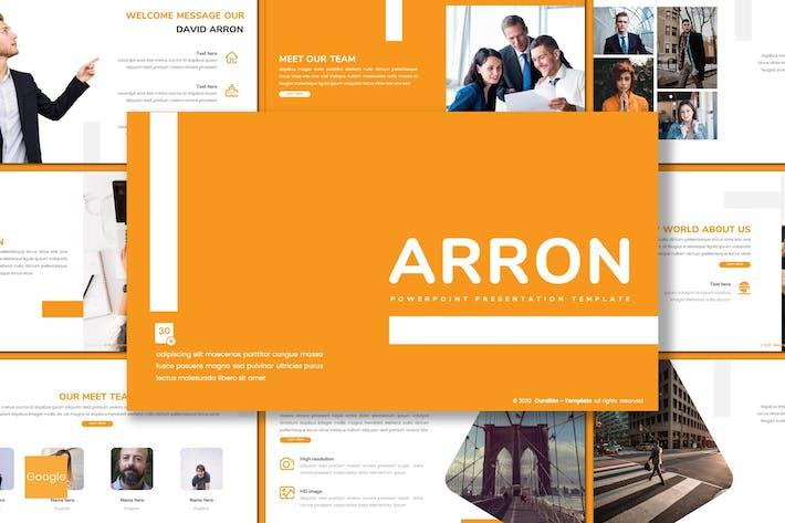 Thumbnail for Arron - Business Google Slides Template