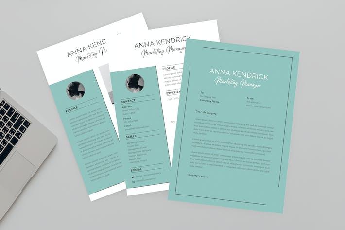 Thumbnail for Anna Marketing Resume Designer
