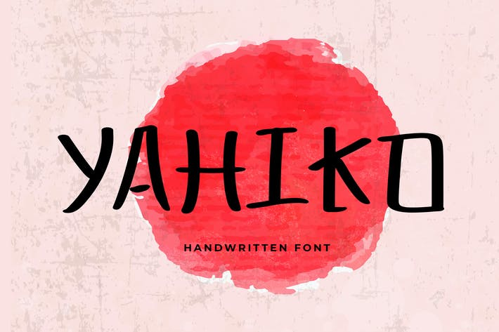 Thumbnail for Yahiko Playful Handwritten Font