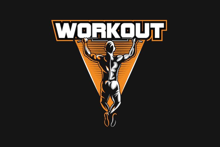 Thumbnail for Workout Sport Logo v6