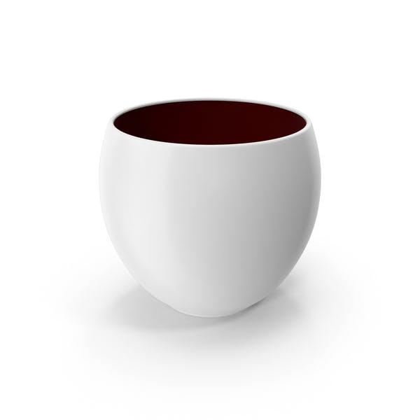 Keramiktopf Weiß