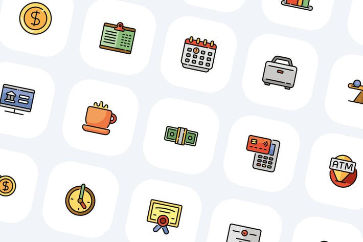Thumbnail for 80 банковских и финансовых Иконки