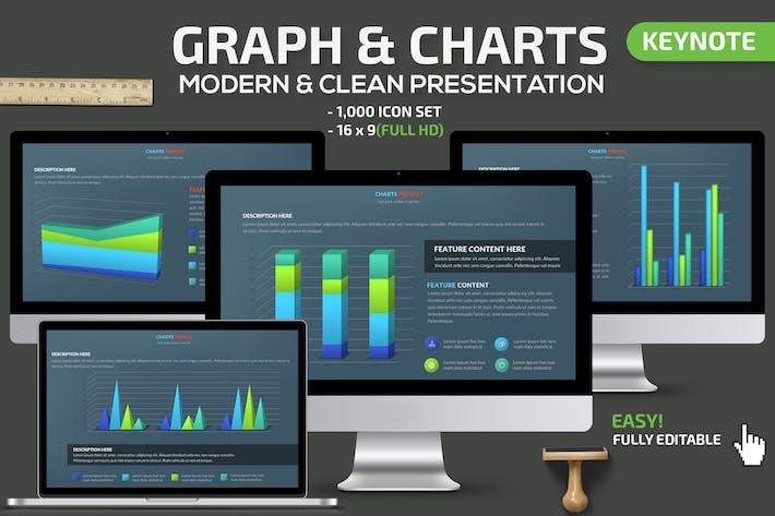 Thumbnail for Graph & Charts Keynote Presentation