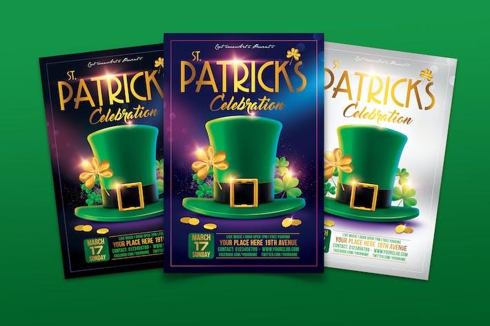 St. Patricks Celebration Flyer