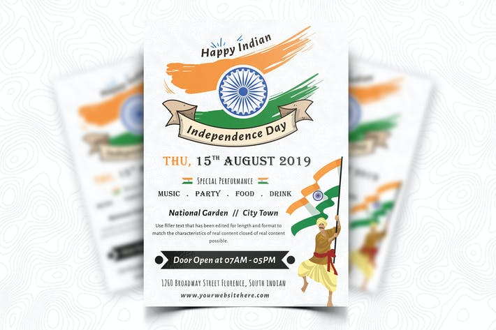 Thumbnail for Indian Independence Day Flyer-05