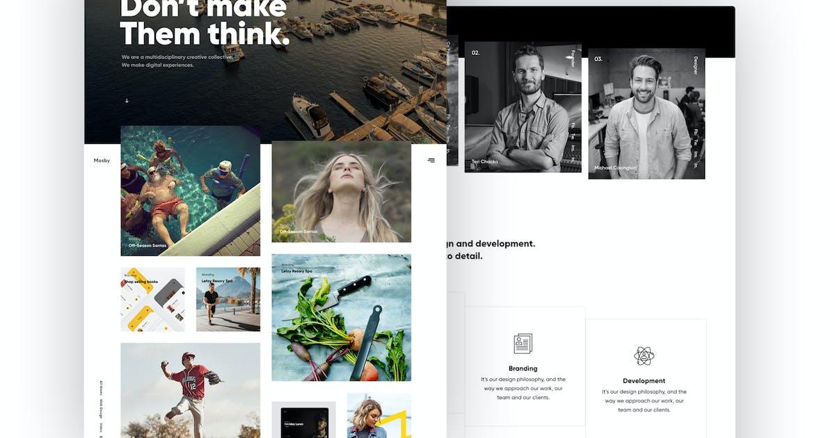 Download Mosby - Agency & Freelancer Portfolio Template by tavonline