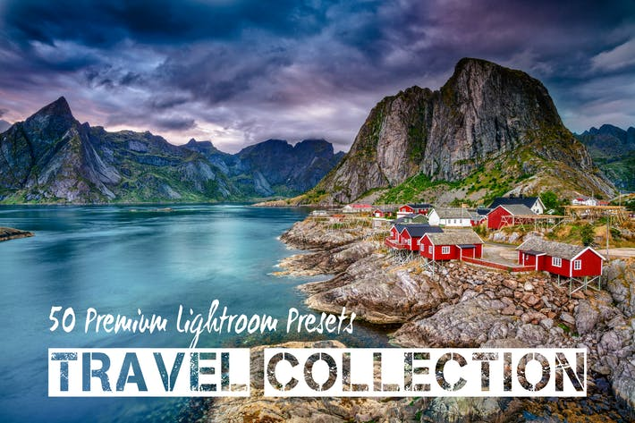 Thumbnail for PRO Landscape and Travel Lightroom Presets