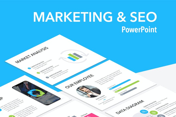 Thumbnail for Marketing & SEO PowerPoint Template