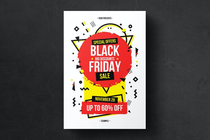 Thumbnail for Black Friday Flyer Template