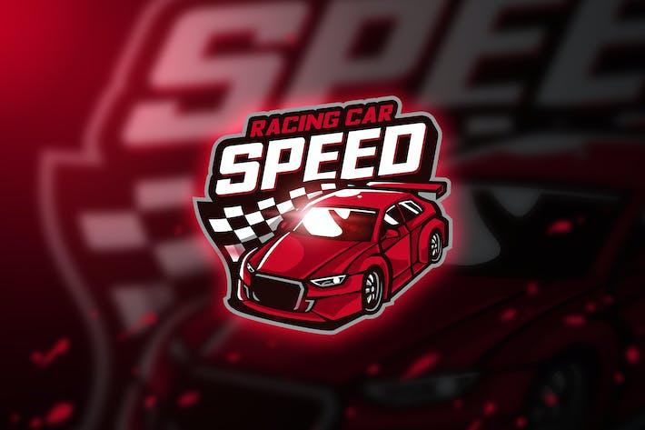 Thumbnail for Racing car - Mascot & Esport Logo