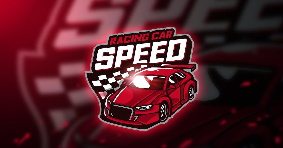 Download Racing car - Mascot & Esport Logo by aqrstudio