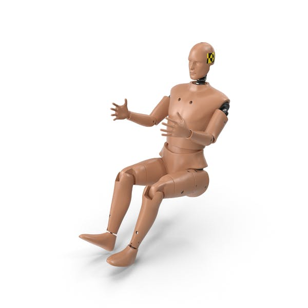 Male Crash Test Dummy