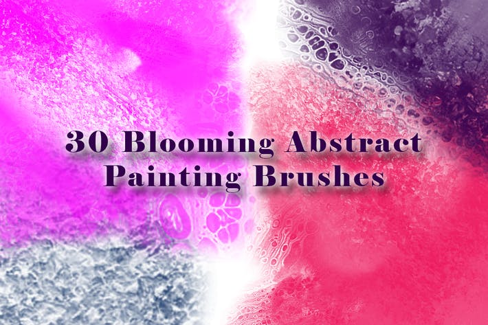 Thumbnail for 30 Blooming Abstract Painting Brushes
