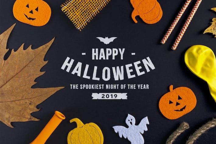 Thumbnail for Halloween mockup