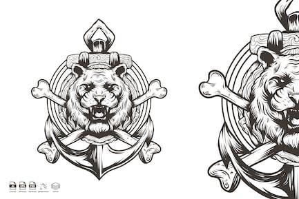 tiger anchor