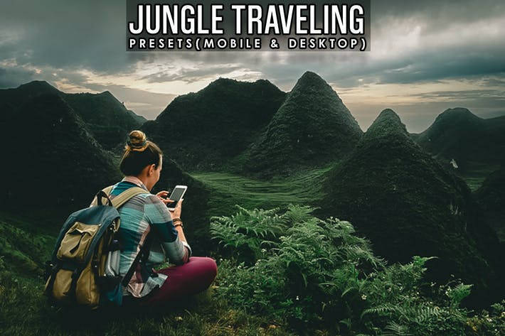 Thumbnail for Jungle Traveling Lightroom Presets