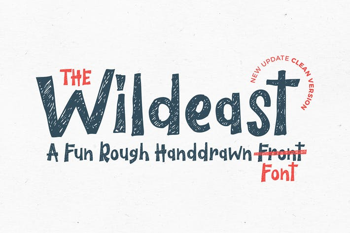 Thumbnail for The Wildeast Font