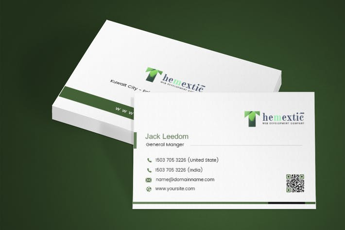 Cover Image For Creative - Market Business Card 4 Template