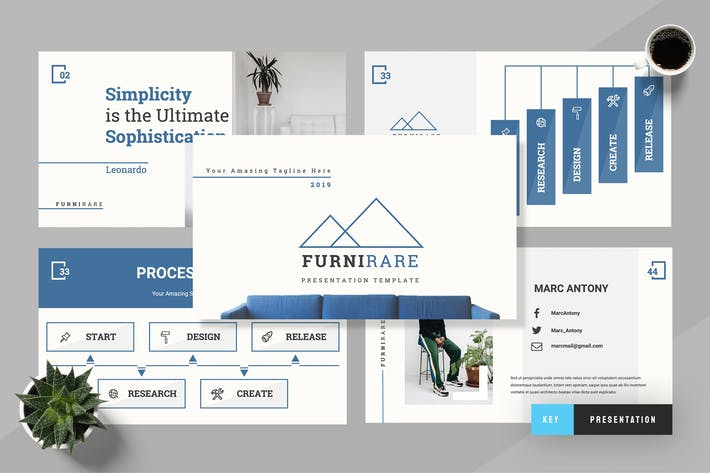 Thumbnail for Futurare - Furniture Keynote Presentation
