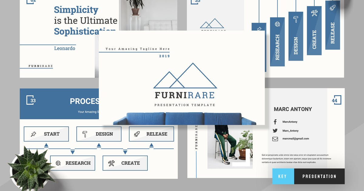 Futurare - Furniture Keynote Presentation by TMint
