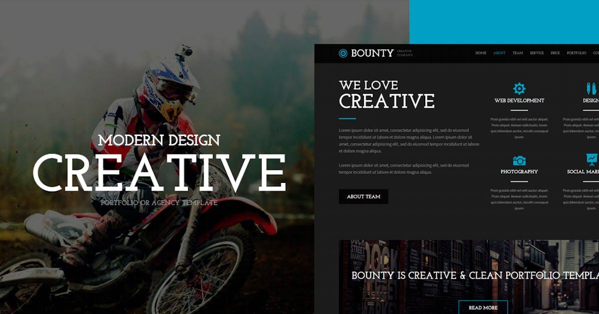 Download Bounty - Modern Responsive HTML Template by EvathemeMarket