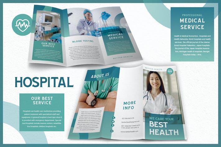 Thumbnail for Clean Modern Hospital - Brochure