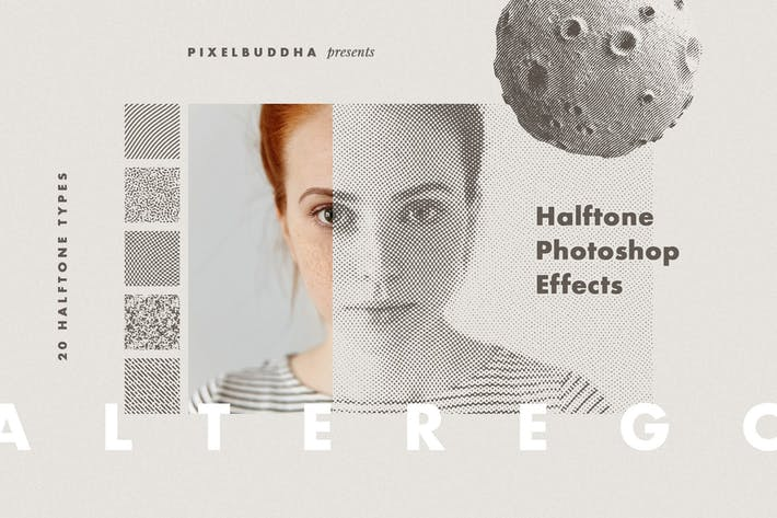 Thumbnail for Alter Ego Halftone Photoshop Effect